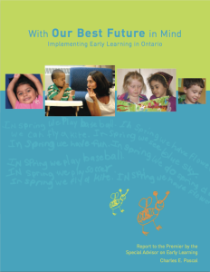 Ontario Education Report Cover